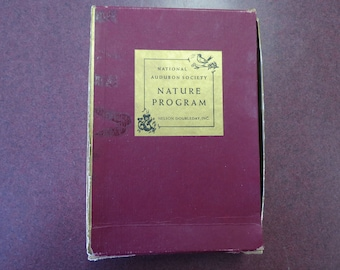 1956 National Audubon Society Nature Program