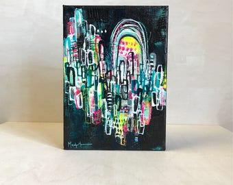 Light me up – original painting