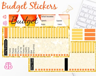 Budget Stickers | October