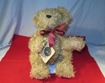 "Boyds 13"" Bean Bag Doomoore Buckshot Teddy Bear"
