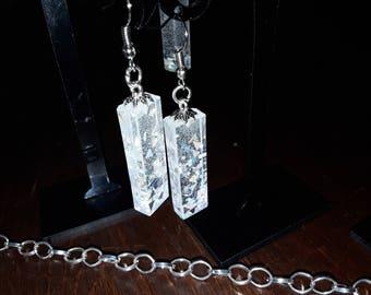 Earrings or Necklace Chrystal