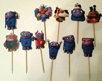 Dreamworks Home Cupcake Toppers