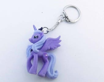 MY Little Pony Keychains, Princess Luna, Princess Cadence, Sunset Shimmer geeky brony pegasister gifts