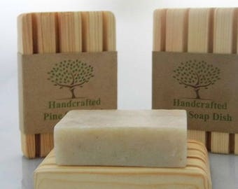 Handcrafted Pine Soap Dish