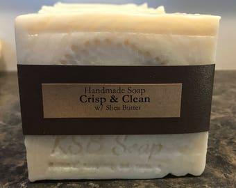 Crisp & Clean Handmade Soap