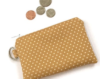 Coin Purse - Earbud Pouch - Zipper Wallet - Zipper Purse - Credit Card Holder