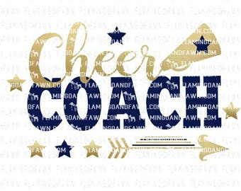 cheer coach svg, cheer svg, coach svg, svg cheer, cheerleading coach svg, cheerleader svg, svg files, pom pom svg, cheer coach dxf