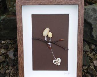 Best Mom....an Irish pebble art gift