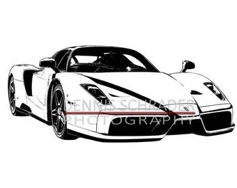 Vintage Plakater further 1 5 3 besides Ferrari Enzo further Customs further 2009 Ferrari 599xx. on ferrari f40