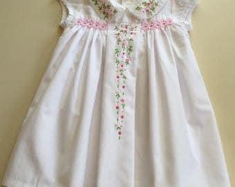 White Smocked Dresses