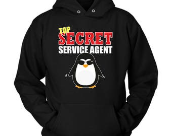 Secret Service Agent hoodie. Cute and funny gift idea