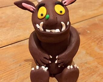 Handmade Gruffalo character Figure/Cake Topper