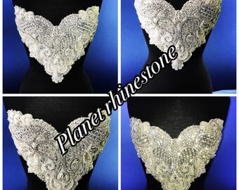 Rhinestone embridery applique