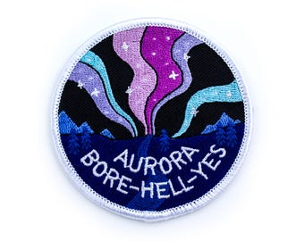 Patch // Aurora Borealis // Aurora Bore-hell-yes
