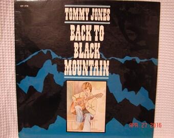 Tommy Jones Back To Black Mountain OV-1731