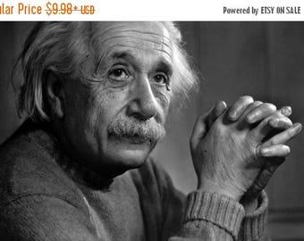 Back to School Sale: Albert Einstein Genius POSTER