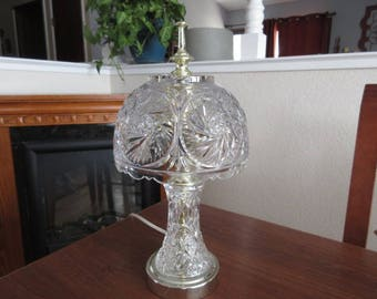 Vintage Crystal Accent Lamp