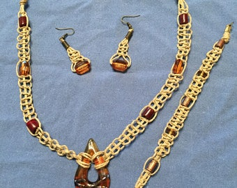 Hemp Jewelry set