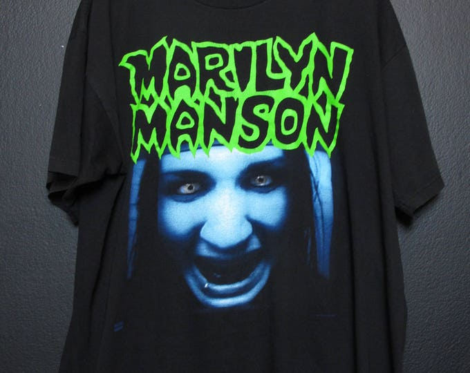 Marilyn Manson We Will Grow to Hate You 1997 vintage Tshirt