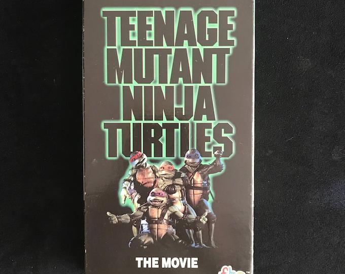Teenage Mutant Ninja Turtles 1990 Vintage Movie VHS