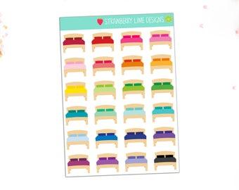 Mini Bed Stickers