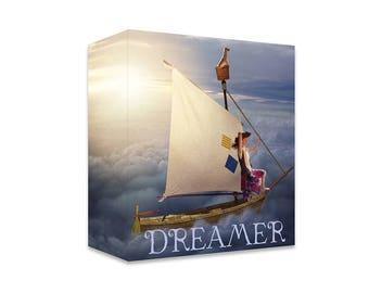 Dreamer ~ Digital Sailboat Overlay