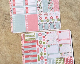 Rose Parade : Mini Weekly Sampler Sticker Kit   inkWELL Press Planner   Bound - A5 - Quarterly   LucKaty