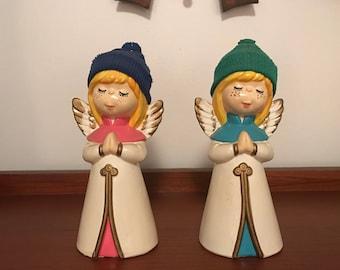 Pair of Vintage Angels Made in Korea