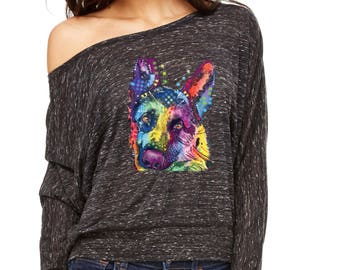 Flowy ShirtRescues Are My Favorite Yorkie Love Long-Sleeve Don't Shop Adopt Flowy Shirt