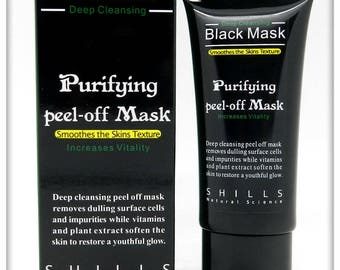 Black Facial Mask Deep Cleansing Purifying Peel-off Mask  50ml Brand New / Fresh