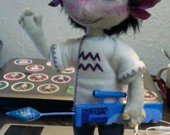 Custom Made Art Doll