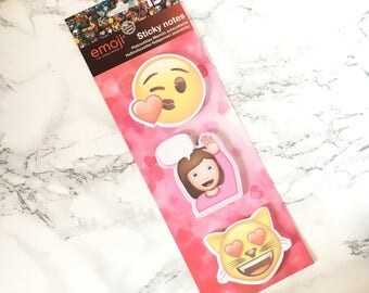 Emoji Sticky Notes - Emojis Sticky Notes - Emoji Sticky Notepad - Emoticones Sticky Notes - Emoticone Sticky Notes