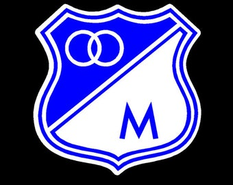 Millonarios FC escudo | soccer | futbol Car Decal/ sticker