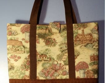 Antique Country Homes Totebag or Purse