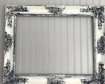 Ivory Shabby Chic Mirror, Large Bathroom Mirror, Vanity Mirror, Baroque Mirror, Wall Mirror, Ornate Mirror, Custom Colors Available
