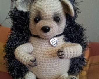 Handmade Crochet Amigurumi Toy - Hedgehog Crochet - Amigurumi hedgehog
