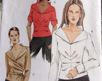 Unique ladies blouses Vogue Pattern