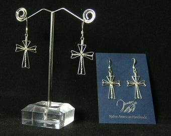 Cross Earrings | Native American