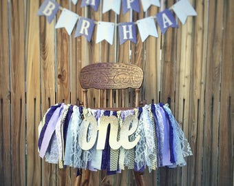 Purple and Gold Happy Birthday Banner, Purple and Gold Birthday, Purple and Gold Birthday Banner, Party Package