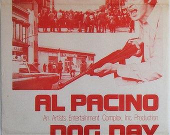 Dog Day Afternoon - 1975 - Original Australian daybill movie poster - Al Pacino