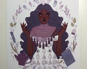 Witchcraft by Rose Art Print