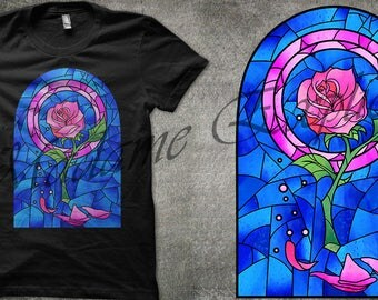 Rose T-Shirt - Beauty and the Beast
