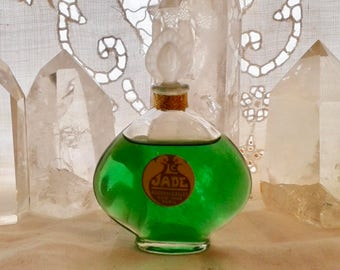 Roger & Gallet, Le Jade, 25 ml. or 0.85 oz. Flacon, Pure Parfum Extrait, 1923, Paris, France ..