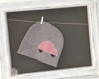 Grey Hat with fleece