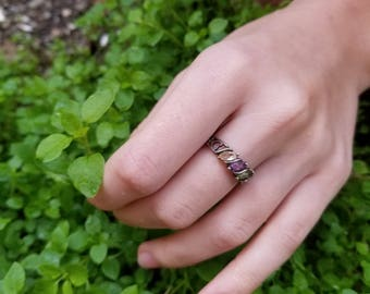 Sterling Silver and Gem Ring