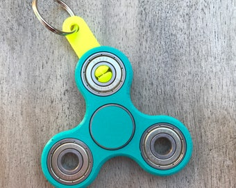 Fidget Spinner Keychain clip- fits all 608 bearings!