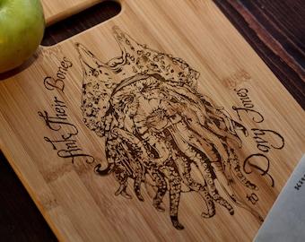 Davey Jones Cutting Board 9x11