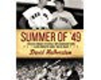 "baseball book, Red Sox, Yankees, 1949, sports, ""summer of 1949"""