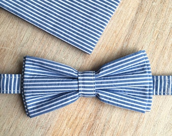 Bow tie + Pocket - sailor