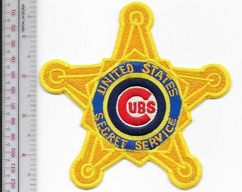US Secret Service USSS Illinois Chicago Field Office Cubs Agent Service Star Patch